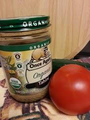 Vegan organic Tahini