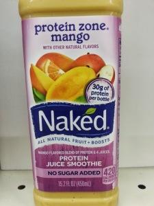 nake juice protein zone mango juice all natural