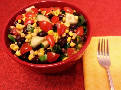 new black bean corn salad